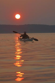✭ Seakayaking on the Potomac River at sunset