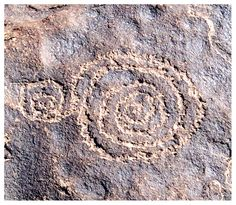 Spent lots of time searching areas with Anasazi petroglyphs in New Mexico.