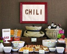 Set up a DIY Chili Bar. | 21 Steps To The Best Pumpkin Carving Party Ever