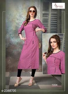 Kurti Sleeves Design, Kurta Neck Design, Sleeves Designs For Dresses, Dress Neck Designs, Latest Dress Design, Stylish Dress Designs, Stylish Kurtis Design, Simple Kurta Designs, Kurta Designs Women