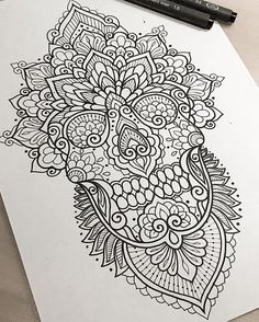 Pin by stephanie rittenhouse on tattoos mehndi tattoo, tatto Sugar Skull Tattoos, Leg Tattoos, Body Art Tattoos, Sleeve Tattoos, Sugar Skulls, Tatoos, Calve Tattoo, Back Tattoo, Tattoo Sketches