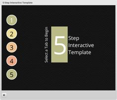 5-Step Interactive Template