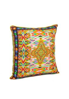 Camilla - Jakima small square cushion 45 x 45cm