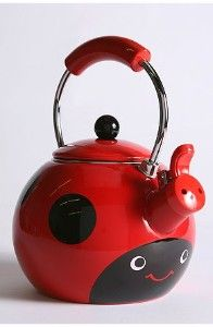 Ladybug Tea Kettle - very cute but I still love my glass one (sorry)