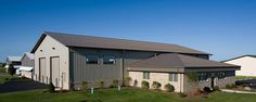 Commercial Building Profile  Use: Commercial post-frame building  Size: 60' x 100' x 17' & 40' x 32' x 9'