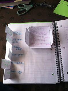 Karmen Creates: Interactive Spanish Notebook... Keeps growing!!! #learning #spanish #kids