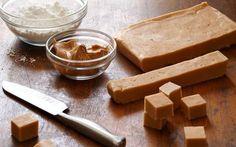 Peanut butter fudge Recipe by Alton Brown