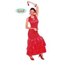 Pour compléter ce très beau déguisement de danseuse de flamenco, il ne manque q'une   paire de castagnettes ! Olé !