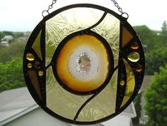Stained GlassRound Stained Glass with by CreativeSpiritGlass