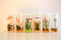 Blakely Oil Arizona Cactus Glasses Set of 6 by TheCottageCheese, $68.00