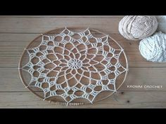 Crochet Mandala Pattern, Crochet Flower Patterns, Crochet Doilies, Crochet Flowers, Thread Crochet, Crochet Stitches, Diy Dream Catcher Tutorial, Crochet Dreamcatcher, Dream Catcher Craft