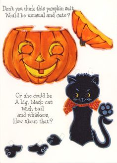 For A Sweet Girl A Halloween Paper Doll.This From Hilda Milocha – MaryAnn – Picasa Nettalbum