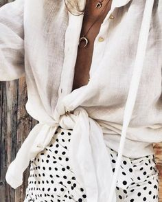 whites and textures