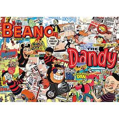 #PopularKidsToys Just Added In New Toys In Store!Read The Full Description & Reviews Here - Gibsons Beano and Dandy Vintage Comic Collection Jigsaw Puzzle (1000 Pieces) - Beano & Dandy Vintage Comic Collection    Frequently Bought Together       +      +      +        Price for all: £56.77        This item: Gibsons Beano and Dandy Vintage Comic Collection Jigsaw Puzzle (1000 Pieces) £29.94    Gibsons 1980s Sweet Memories Jigsaw Puzzle (1000 pieces) £3.30