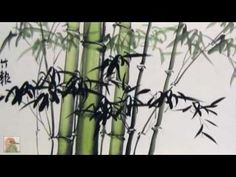 ▶ Bamboo Studies - Chinese Bird and Flower Painting. - YouTube