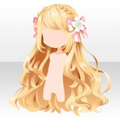 Snap Contest 17 - (Hairstyle) Braided Headband on Fluffy Hair ver.A brown. Anime Girl Hairstyles, Kawaii Hairstyles, Trendy Hairstyles, Chibi Hairstyles, Drawing Hairstyles, Headband Hairstyles, Pelo Anime, Chica Anime Manga, Character Inspiration