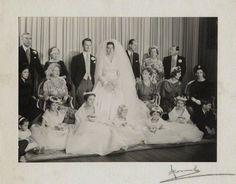 January 13, 1960:  The wedding of David Hicks and Lady Pamela Mountbatten.: