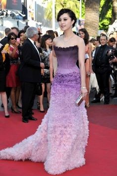 Fan Bing Bing in Atelier Versace