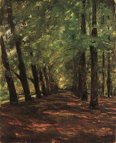 MAX LIEBERMANN Allee in Overveen, Netherlands (1895)