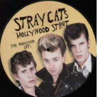 "Goofin Records - Stray Cats - Hollywood Strut - Unreleased Cuts (10"" kuva-LP)"