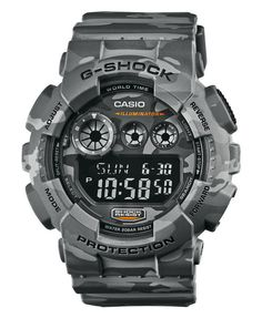 Casio Gents G-Shock Military Camouflage BLACK OPS Edition 200M Digital Watch