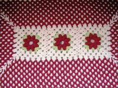 Resultado de imagem para croche como fazer ponto listras em tapetes