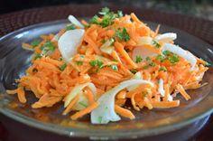 Eye Eat Healthy: French Carrot Fennel Garlic Salad