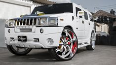 After seeing so many try and fail, this Hummer is modified the right way. Hummer Cars, Hummer Truck, Hummer H1, Cool Trucks, Big Trucks, Pickup Trucks, My Dream Car, Dream Cars, White Hummer