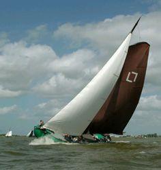 The Netherlands. Holland, Dutch Barge, Classic Sailing, Sailing Ships, Sailing Boat, Sail Away, Set Sail, Tall Ships, Catamaran