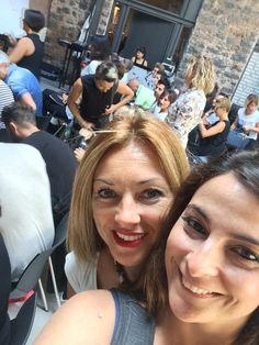 Nuestras tutors en Catania... formación con Salvo Filetti Hair Designer en Joyà Academy.