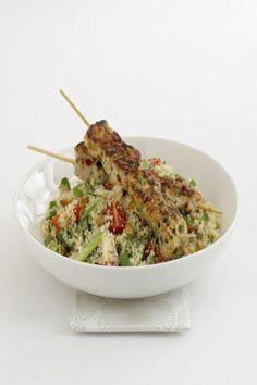 Moroccan Chicken Kebabs  #Recipe  #GourmetGarden