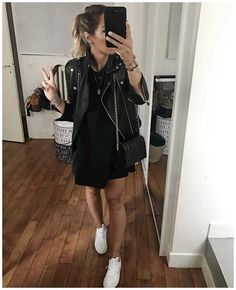Look Fashion, Fashion Outfits, Cool Outfits, Casual Outfits, Mein Style, All Black Outfit, Hippie Outfits, Looks Cool, Mode Inspiration