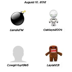 QuiBids Daily Sweepstakes Winners 8-10-2012