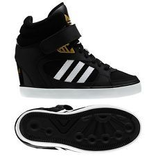 new arrival 56da0 b6bd6 adidas black wedge - My new fav and they are soooo comfy!