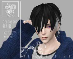 Sims 4 Hair Male, Sims Hair, Sims 4 Cc Packs, Sims 4 Mm Cc, Anime Hairstyles Male, Sims 4 Anime, Pelo Sims, Sims 4 Collections, Sims4 Clothes