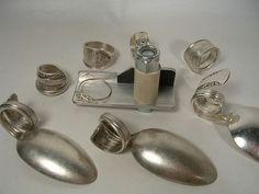 Die ORIGINAL RING SPOON Bender Vintage Perlen Schmuck