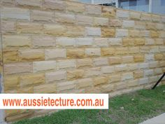 Aussietecture natural stone supplier has a unique range natural stone products for walling, flooring & landscaping. Sandstone Cladding, Natural Stone Cladding, Sandstone Paving, Natural Stone Wall, Natural Stones, Landscape Design, Garden Design, Stone Supplier, Wall Cladding