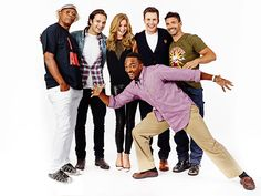 The cast of Captain America: Winter Soldier