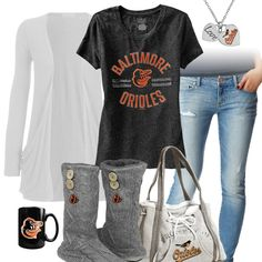 Baltimore Orioles Casual Tshirt Outfit