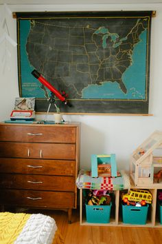 """Rachel & Brett's """"Resourcefully Chic"""" Family Home House Tour Cleaning My Room, Living Vintage, Black And White Baby, Family Room Design, Animal Decor, Black Decor, Kid Spaces, My Living Room, Boy Room"""