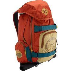 Burton HCSC Shred Scout Backpack - 1587cu in Orange/Blue, One Size