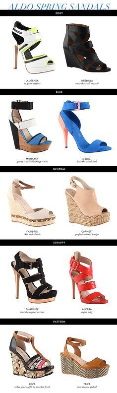10 Sandals for Spring