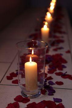 Romantic mood lighting