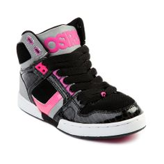 24406eaa496 Shop for YouthTween Osiris NYC 83 Skate Shoe in White Black Pink at Journeys  Kidz.
