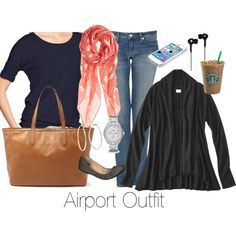 Airport outfit