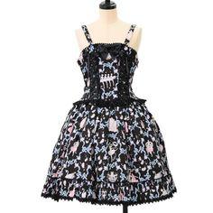 http://www.wunderwelt.jp/products/detail6944.html ☆ ·.. · ° ☆ ·.. · ° ☆ ·.. · ° ☆ ·.. · ° ☆ ·.. · ° ☆ Pas de Deux pattern jumper skirt of blue moon BABY THE STARS SHINE BRIGHT ☆ ·.. · ° ☆ How to order ↓ ☆ ·.. · ° ☆ http://www.wunderwelt.jp/user_data/shoppingguide-eng ☆ ·.. · ☆ Japanese Vintage Lolita clothing shop Wunderwelt ☆ ·.. · ☆ #egl