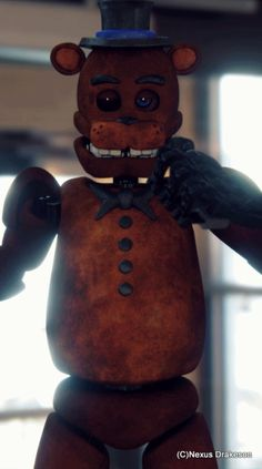 Check out this girl's Deviant Art! She makes amazing art of FNAF they look like action Figures!
