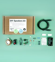 DIY Speakers Kit - trying to decide if this would be a fun project for Jeff...