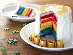 Easiest Ever DIY Rainbow Cake