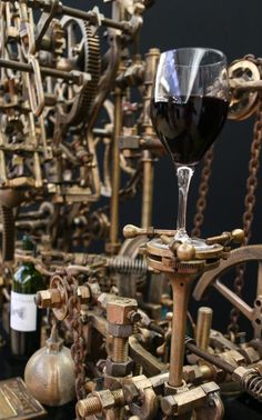 That is not only an amazing looking wine accessory but handy as well :)